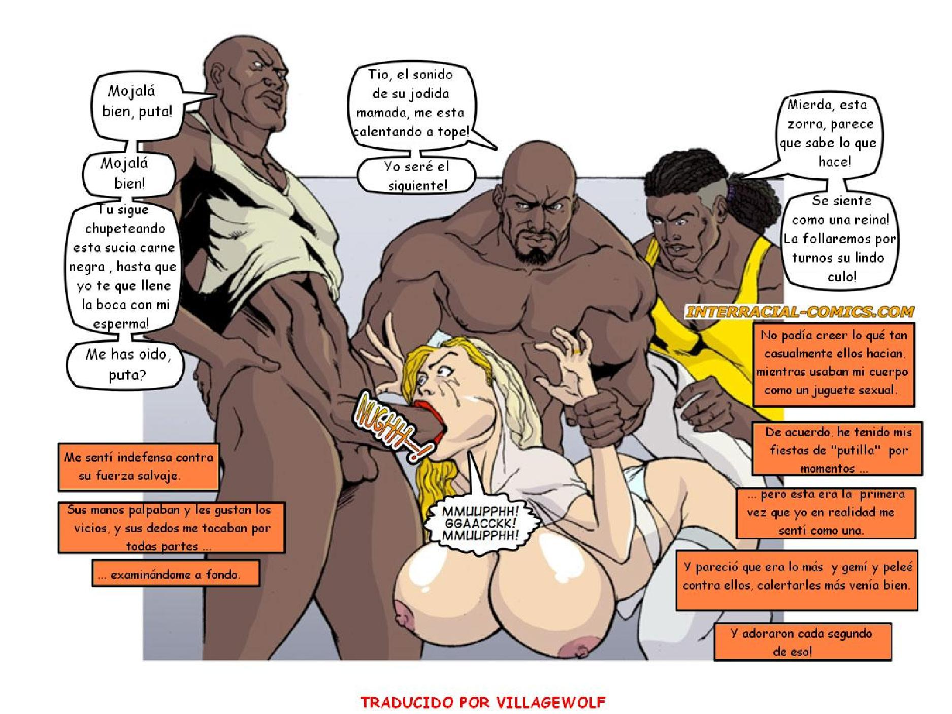Interracial Comics Cuckold Cartoons at Black Cock Comics