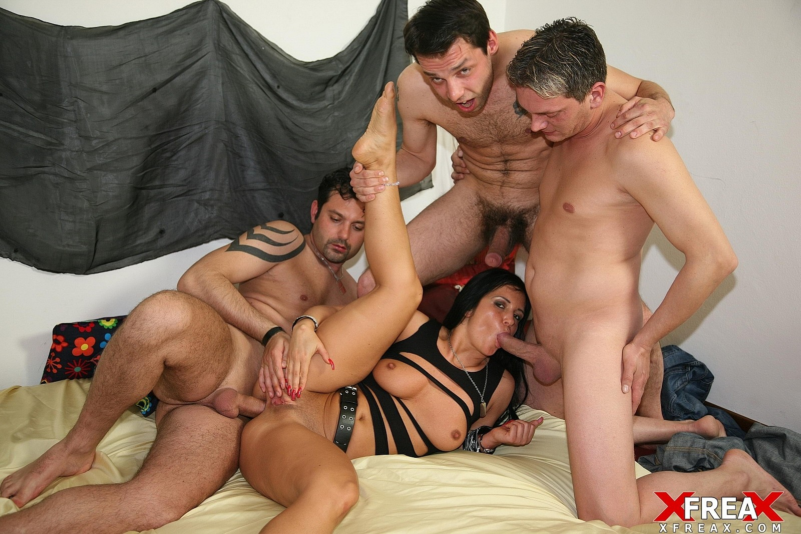 Download [EuroGangBangs] Gang Bang with Banbara Devil
