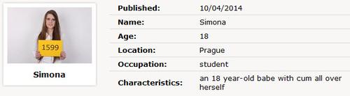 Simona : Czech Casting 1599 [CzechCasting/Czechav] (2014|HD|720p)