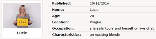 Lucie : Czech Casting 1577 [CzechCasting/Czechav] (2014|HD|720p)