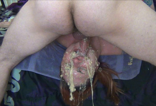 Throat gag mpeg puke vomit fuck