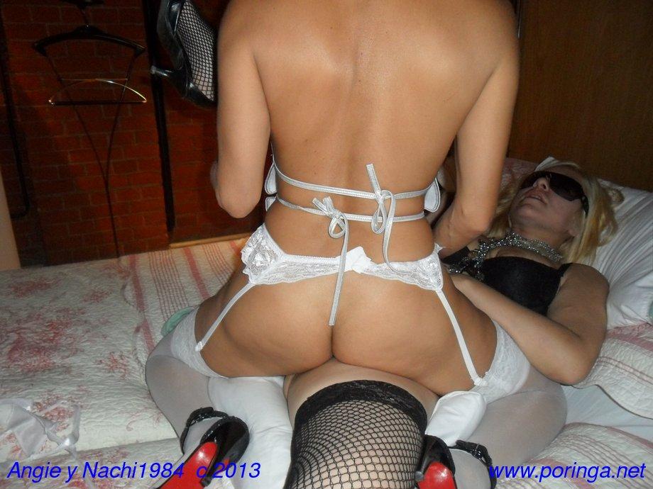Angie y Nachi1984, a pura tijerita con videos