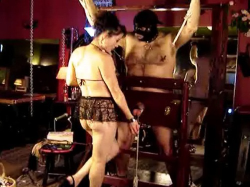 Cruel Ball Torture Till Fainting Female Domination
