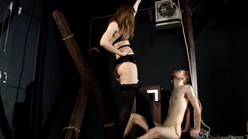 Ellie Makes Her Debut Female Domination