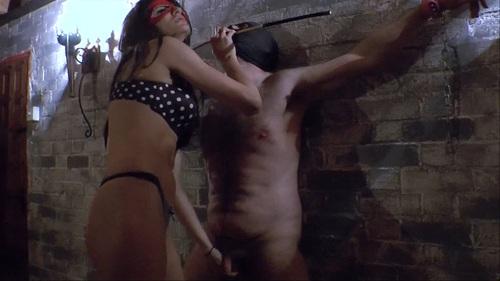 Facesitting And Brutal Nipple Female Domination