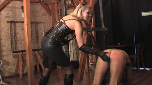 The Mean Female Inspector Female Domination