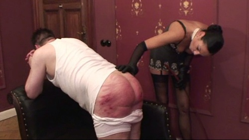 Boudoir Caning Female Domination