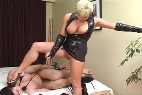 Punishes Her Male Sub Female Domination