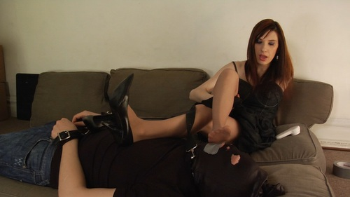 Lick My Feet Female Domination