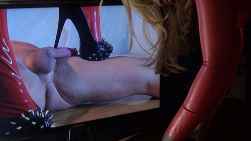 Avas Spiked Heels Female Domination