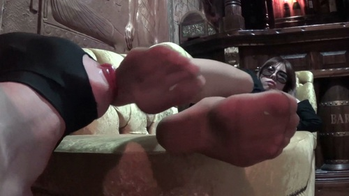 extrem facesitting nylon footjob