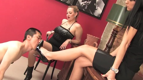 New Slave For Young Ladies Female Domination