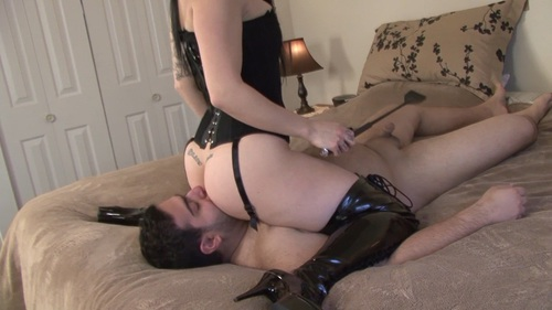 Tongue Bigger Than Cock So Lick Ass Female Domination