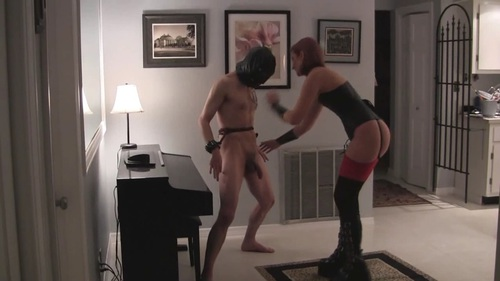 Ballbusting Boots Testicle Slicing Female Domination
