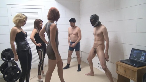 2 Slaves Taken Down Female Domination
