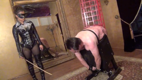 My Cane Has No Mercy Female Domination