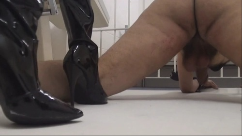 Barbaric Insane Ballbusting 5 Female Domination