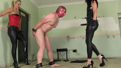 Ballbusting and Deepthroat Female Domination