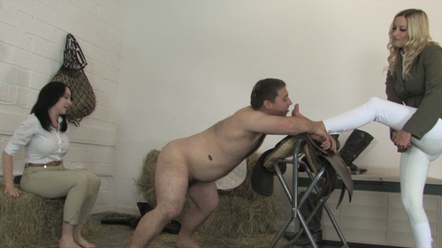 Boot Room Busting Female Domination