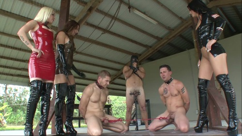 Tug A Balls Female Domination