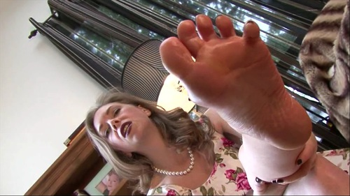 Cum All Over Mommys Feet Female Domination Foot Fetish