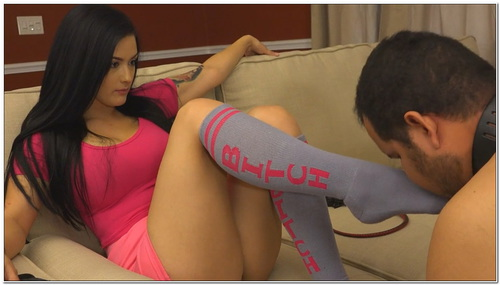 Bitch Socks Female Domination