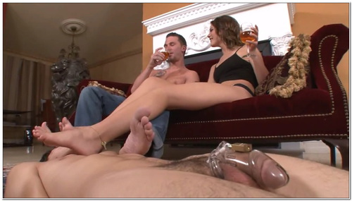Chastised Foot Bitch Female Domination