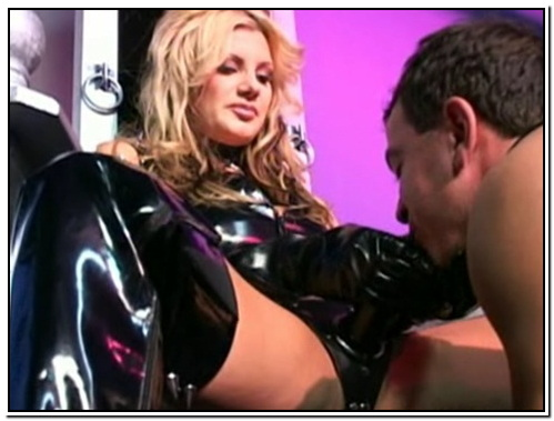Brittany Andrews Strapon Female Domination