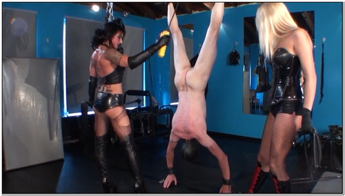 One Cp Slave For 2 Ladies Female Domination