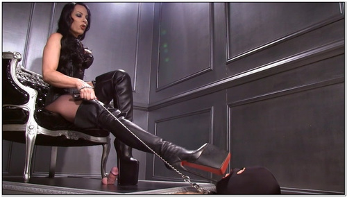 Platform Boot Whore Female Domination