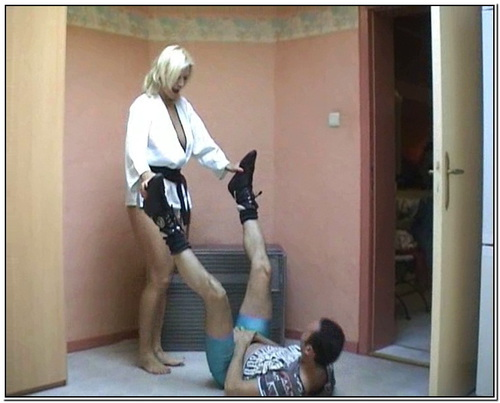 Karate Bitch Female Domination