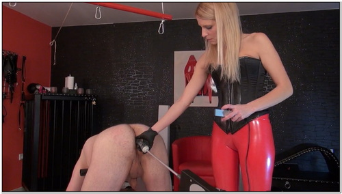 Natalies Slave On The Fucking Machine Female Domination