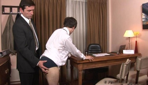 Teacher spanking and fucking gay boy.