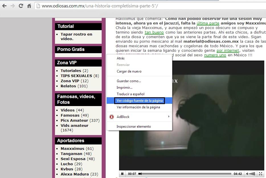 postea videos de 21 paginas 100% latinas y casero
