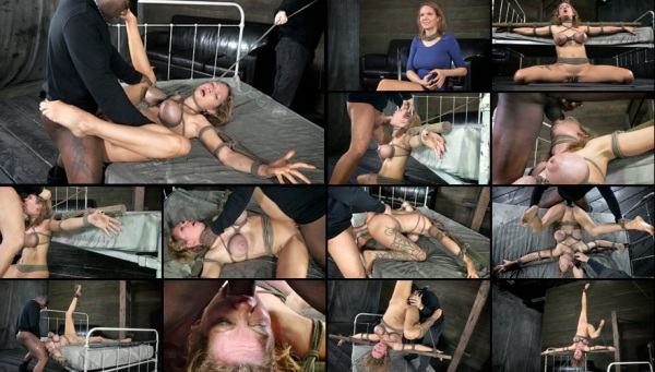 Big breasted Rain DeGrey takes on 10 inches of BBC, pounding anal, Brutal Deepthroat, Category 5!!