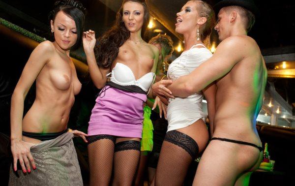 Шлюха в ночном клубе