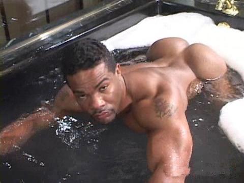 Bubble butt black men