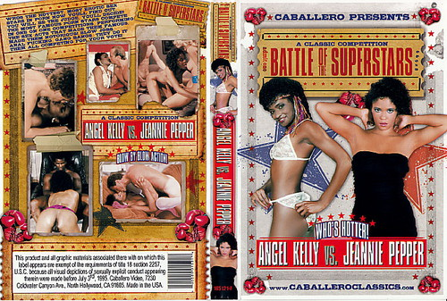 Battle of superstars angel kelly vs jeannie pepper m22 8