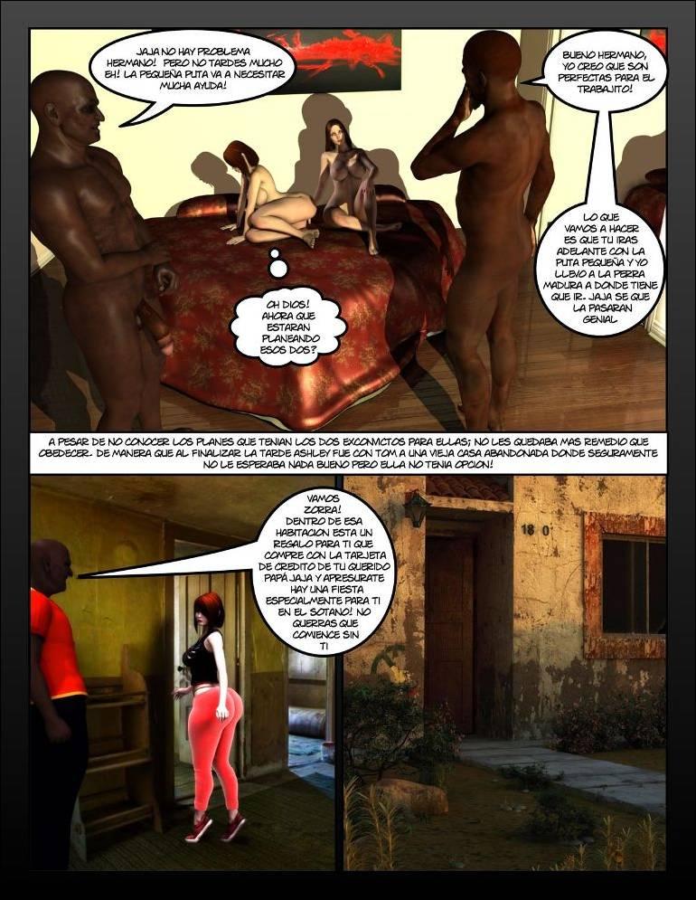 Comic XXX Las Damas de la Prision 3D Cap 1-4 (Colección Imp