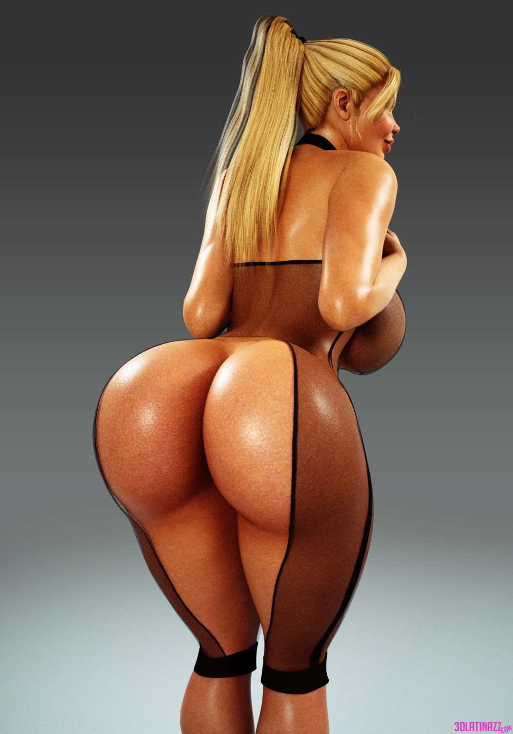 Big booty 3d adult girl