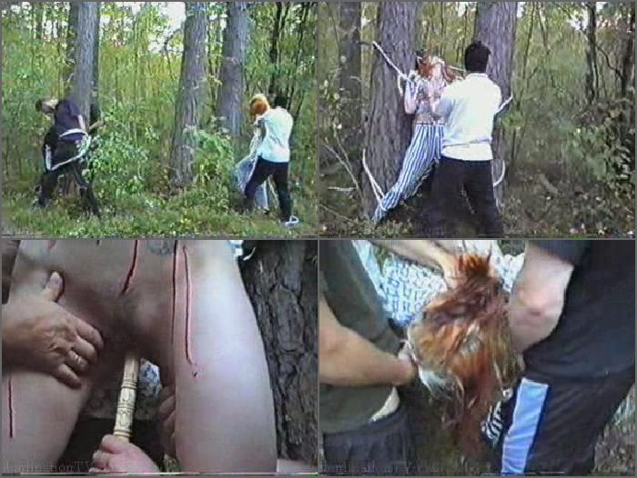 Мужик Изнасиловал Девственницу Девушку В Лесу