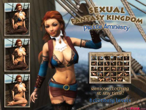 Sexual Fantasy Kingdom - Pirate Amnesty cover