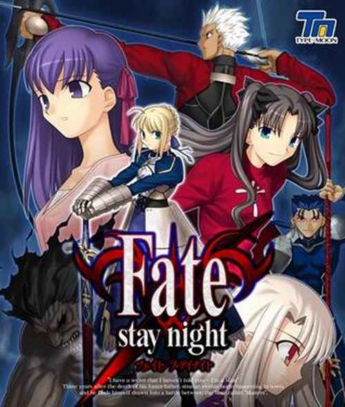 Fate/stay Night (jap and eng version)