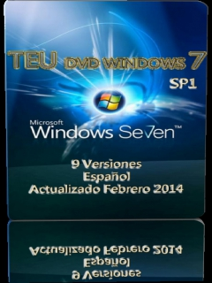 teuwin7 TEU Windows 7 SP1 Build 7601 (9en1) (Febrero 2014) (x86 x64) (ESP)