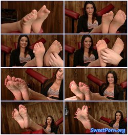 Foot modelling – Barbara