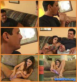 Angel – Footjob