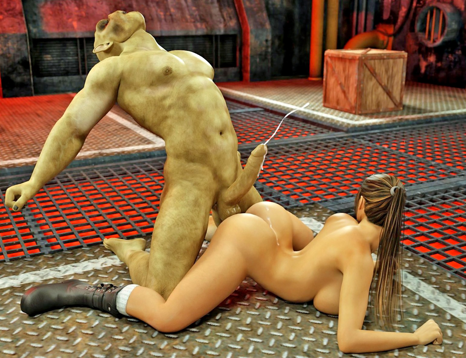 Lara croft fucked by monsters pics sex tube