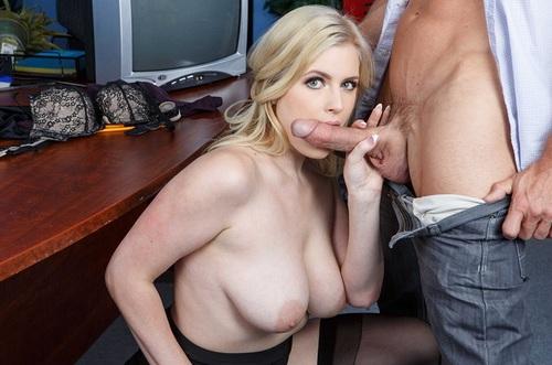 danielle blonde porno