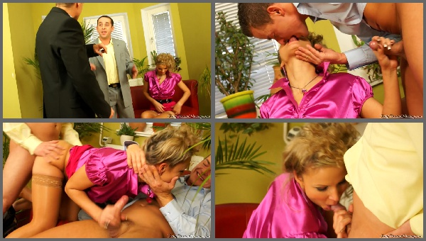 Samantha Jolie FullyClothedPissing.com Double Pounded Satin Piss Slut 23.02.2012