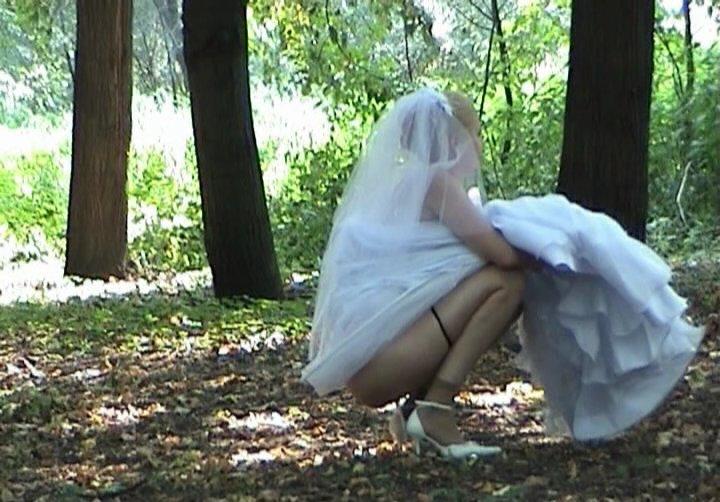 Голые невесты скрытой камерой